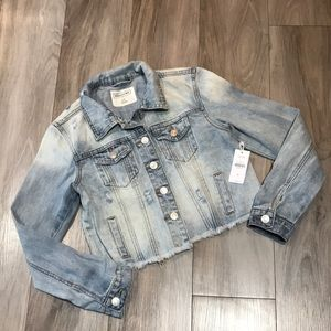 Women's NWT Jean Jacket